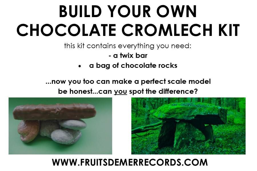 make your own chocolate Cromlech
