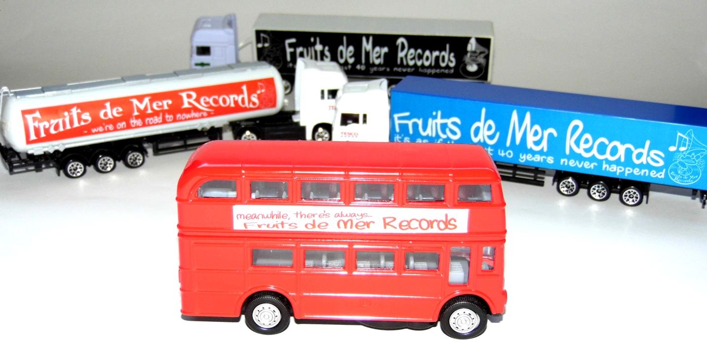 Fruits de Mer Records trucks