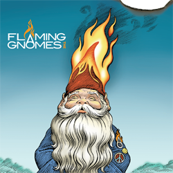 Flaming Gnomes Limited Edition Vinyl Sleeve