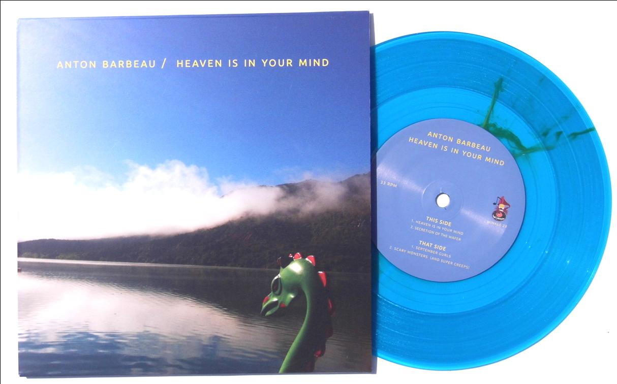 heaven is in your mind on blue vinyl