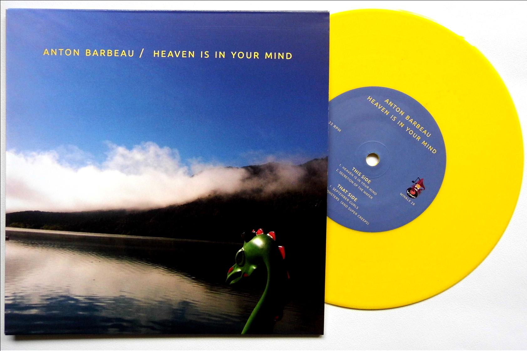 heaven is in your mind on yellow vinyl