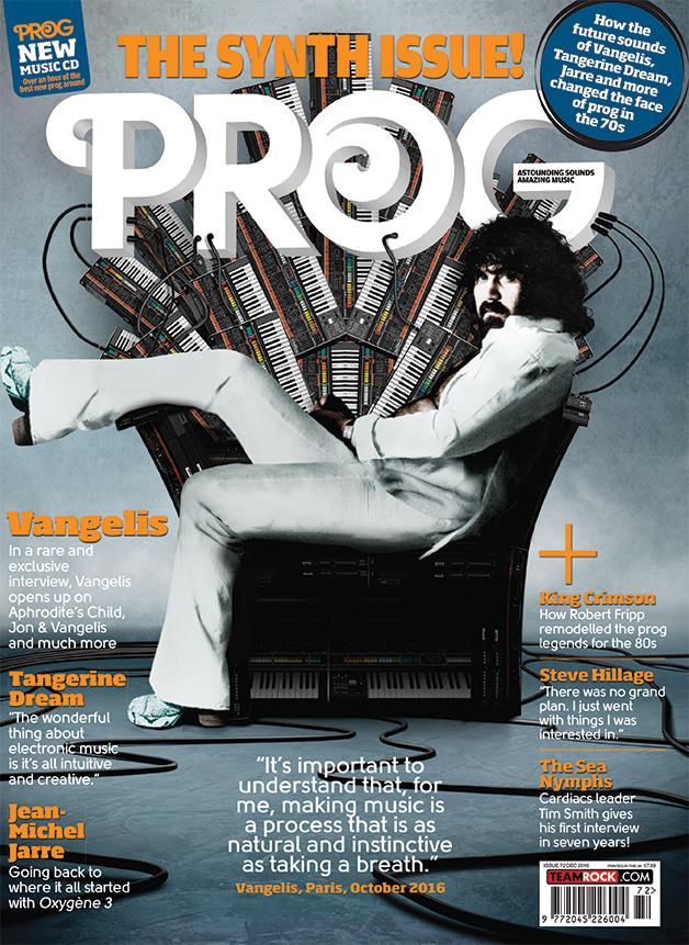 Prog magazine and Kris Needs