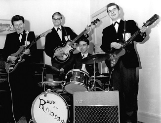 The Raiders - a new boy band - in 1964