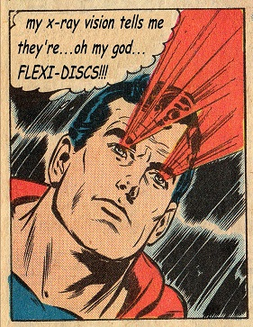 superman sees through the 'Postcards From The Deep' scam